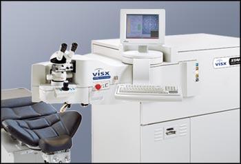 ЛАЗЕРНАЯ ХИРУРГИЯ ГЛАЗА - эксимер-лазерной установке VISX Star-S4 (США)